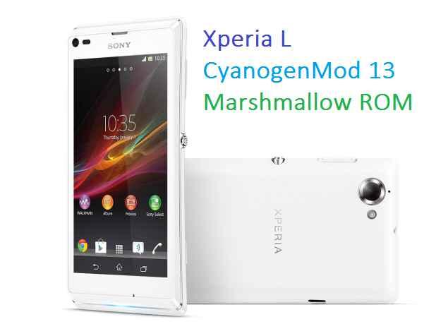 cm13 xperia l cm13 cyanogenmod 13 rom update guide rh cyanogenmods org Sony Xperia Sola Sony Xperia Z Ultra