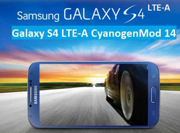 Galaxy S4 LTE-A Docomo CM14/CyanogenMod 14 Nougat 7.0