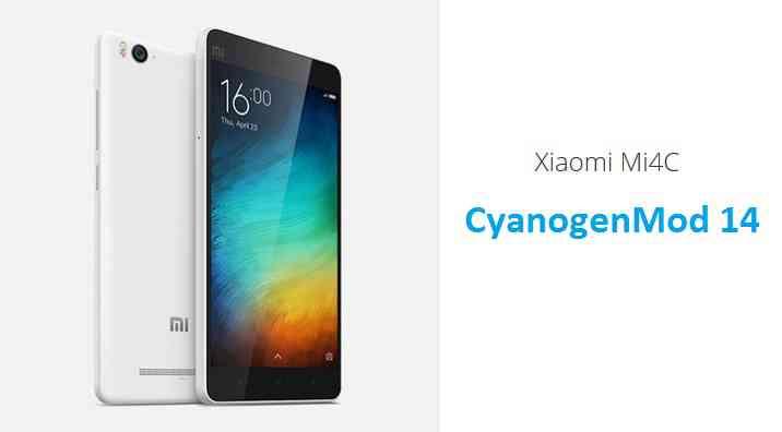 Xiaomi Mi4c CM14 (CyanogenMod 14) Nougat 7.0 ROM