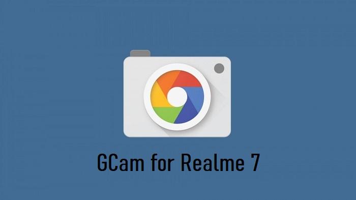 Google Camera Realme 7