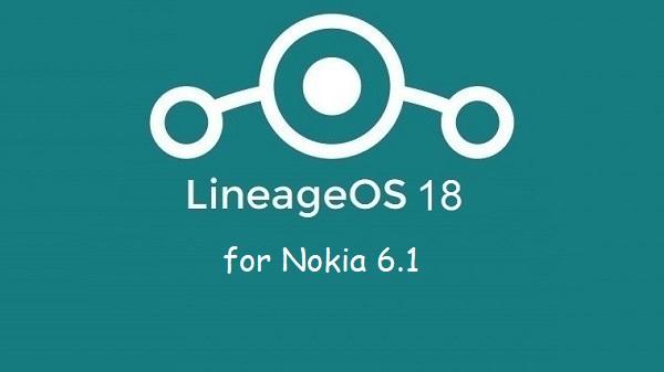 Lineage Os 18 Nokia 6.1